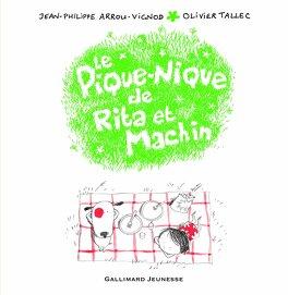 Couverture du livre : Rita et Machin, Tome 6 : Le Pique-nique de Rita et Machin
