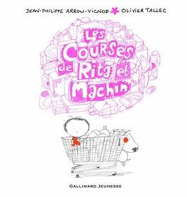 Couverture du livre : Rita et Machin, Tome 7 : Les Courses de Rita et Machin