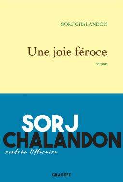 Couverture du livre : Une joie féroce
