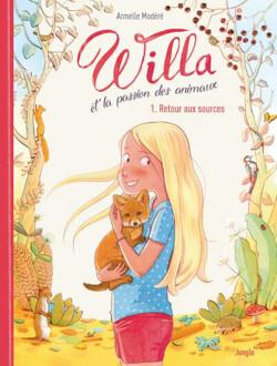 Couverture de Willa et la passion des animaux - T01 : retour aux sources