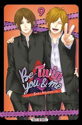 Couverture du livre : Be-Twin you and me, Tome 9