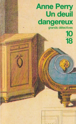 Couverture du livre : Un deuil dangereux