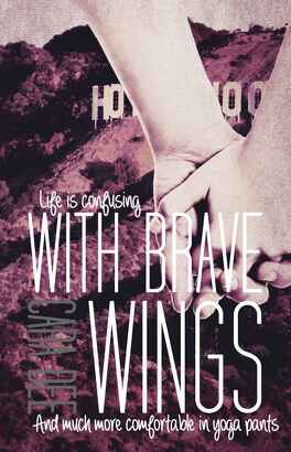 Couverture du livre : Breaking Free, Tome 2 : With Brave Wings