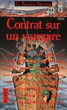Couverture du livre : contrat sur un vampire