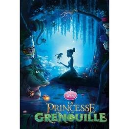 Couverture du livre : La princesse et la grenouille