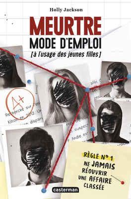 Couverture du livre : Meurtre mode d'emploi (à l'usage des jeunes filles)