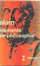 Eléments de philosophie