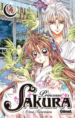 Couverture du livre : Princesse Sakura, Tome 4