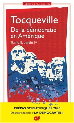 Couverture du livre : De la démocratie en Amérique, Tome 2 - Partie IV