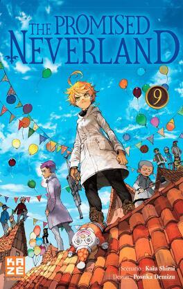 Couverture du livre : The Promised Neverland, Tome 9 : Début des hostilités