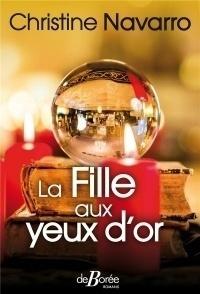 Couverture du livre : La fille aux yeux d'or