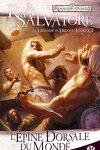 couverture Les Royaumes oubliés - La Légende de Drizzt, tome 12 : L'épine dorsale du monde
