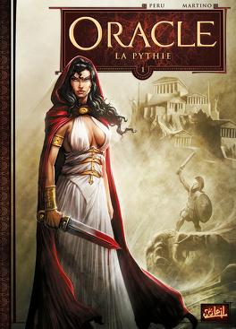 Couverture du livre : Oracle, Tome 1 : La Pythie