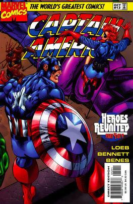 Couverture du livre : Captain America Vol 2 #12 : Heroes Reunited Part 4: Let It Be