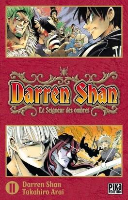 Couverture du livre : Darren Shan, Tome 11 : Le Seigneur des Ombres (manga)