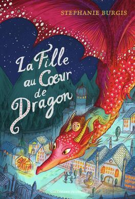 Couverture du livre : La Fille au cœur de dragon