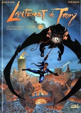 Couverture du livre : Lanfeust de Troy, Tome 7 : Les pétaures se cachent pour mourir