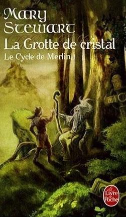 Couverture du livre : Le Cycle de Merlin, tome 1 : La Grotte de cristal