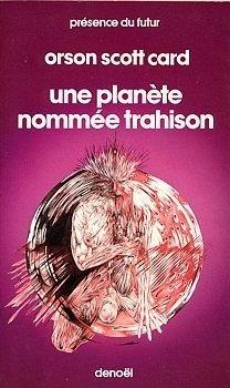 Couverture du livre : Une planète nommée Trahison