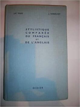 Stylistique Comparee Du Francais Et De L Anglais Methode