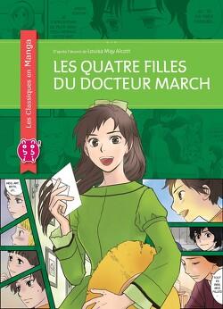 Couverture de Les Quatre filles du Docteur March (Manga)