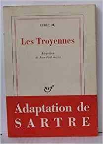 Couverture du livre : Les Troyennes
