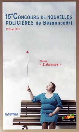 Couverture du livre : 15e Concours de nouvelles policières de Bessancourt : L'Absence