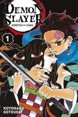 Couverture du livre : Demon Slayer, Tome 1