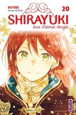 Couverture du livre : Shirayuki aux cheveux rouges, Tome 20
