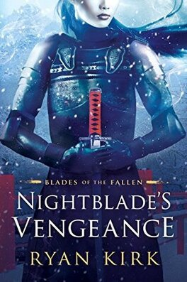 Couverture du livre : Blades of the Fallen, Tome 1 : Nightblade's Vengeance