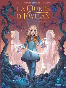 Couverture du livre : La Quête d'Ewilan (BD), Tome 7 : L'Île du destin