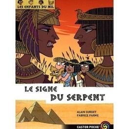 Couverture du livre : Les enfants du Nil, Tome 15 : Le signe du serpent