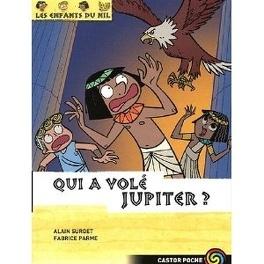 Couverture du livre : Les Enfants du Nil, Tome 5 : Qui a volé Jupiter ?