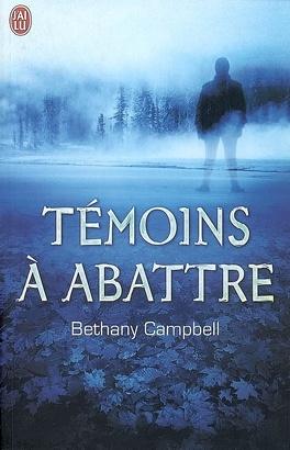 Couverture du livre : Témoins à abattre