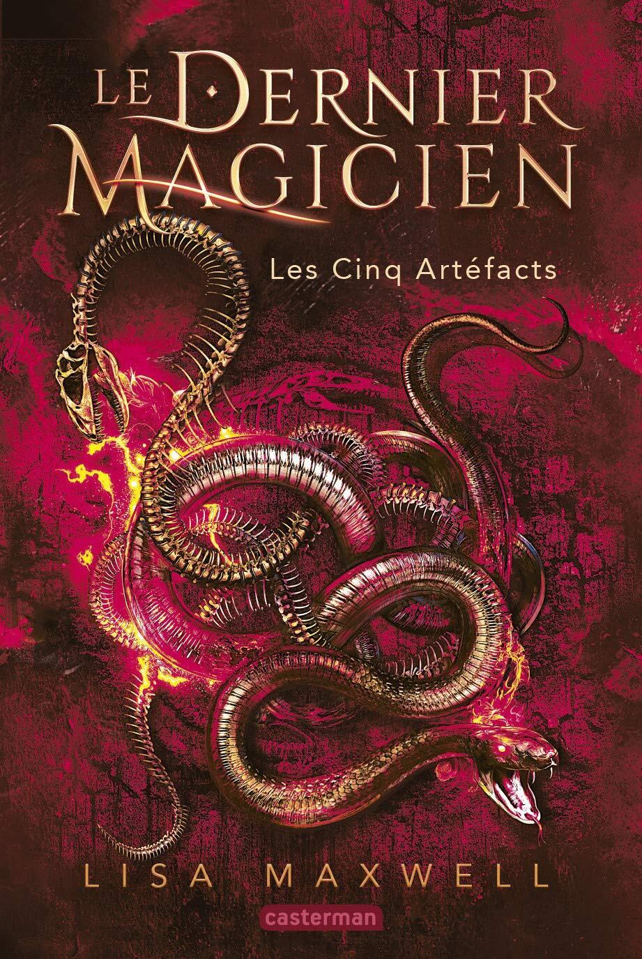 Le dernier magicien T.2 par Lisa Maxwell chez Casterman