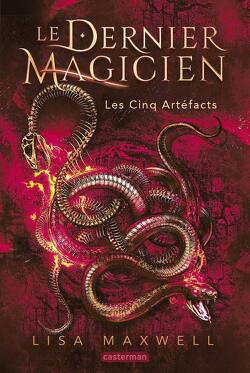 Couverture de Le Dernier Magicien, Tome 2 : Les Cinq Artéfacts
