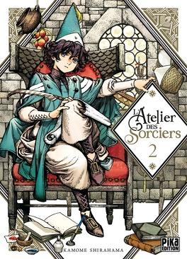 Couverture du livre : L'Atelier des sorciers, Tome 2