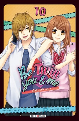 Couverture du livre : Be-Twin you and me, Tome 10