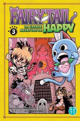 Fairy Tail La Grande Aventure De Happy Tome 3 Livre De