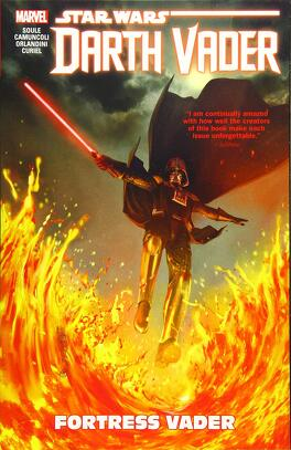 Couverture du livre : Star Wars - Darth Vader: Dark Lord of the Sith, Tome 4 : Fortress Vader