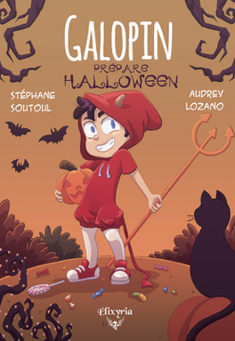 Galopin Prepare Halloween Livre De Stephane Soutoul