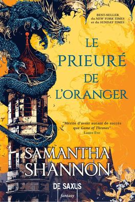 Couverture du livre : Le Prieuré de l'oranger