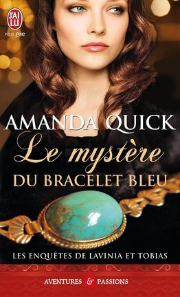 Couverture du livre : Les Enquêtes de Lavinia et Tobias, Tome 2 : Le Mystère du bracelet bleu