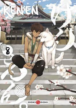 Couverture du livre : Ken'en, comme chien et singe, tome 8