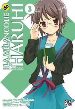Couverture du livre : La mélancolie de Haruhi, tome 3
