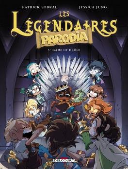 Couverture du livre : Les Légendaires : Parodia, Tome 5 : Game of drôle