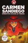couverture Carmen Sandiego, Tome 2 : Opération chasse au trésor