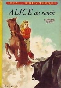 Couverture du livre : Alice au ranch
