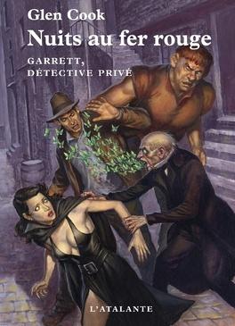 Couverture du livre : Garret, Détective privé, Tome 6 : Nuits au fer rouge