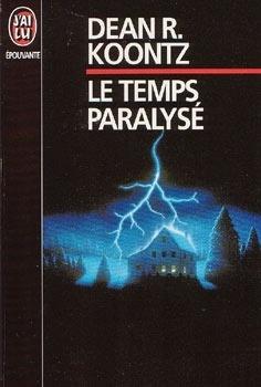Couverture du livre : Le temps paralysé